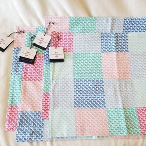 Vineyard Vines Target Patchwork Whale 4 Placemats